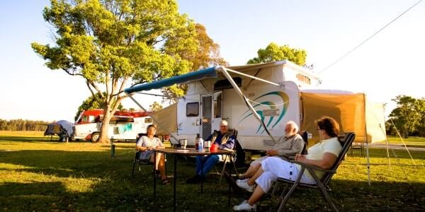 Powered Sites - Yamba Caravan Park